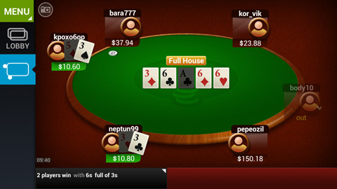 poker on android