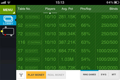 online poker dla iphone/ipad