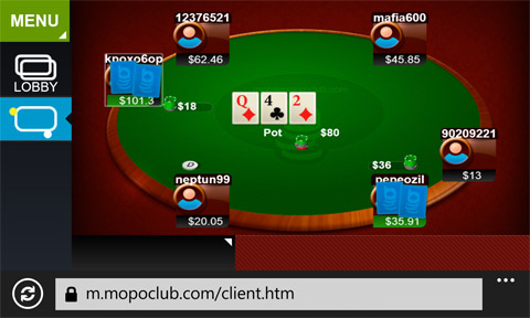 poker on windows phone